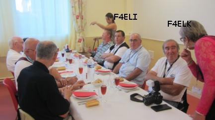 F4ELK, André et F4ELI, Christophe les organisateur de la convention de BREST